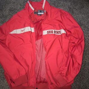 Nike Ohio State Buckeyes Windbreaker